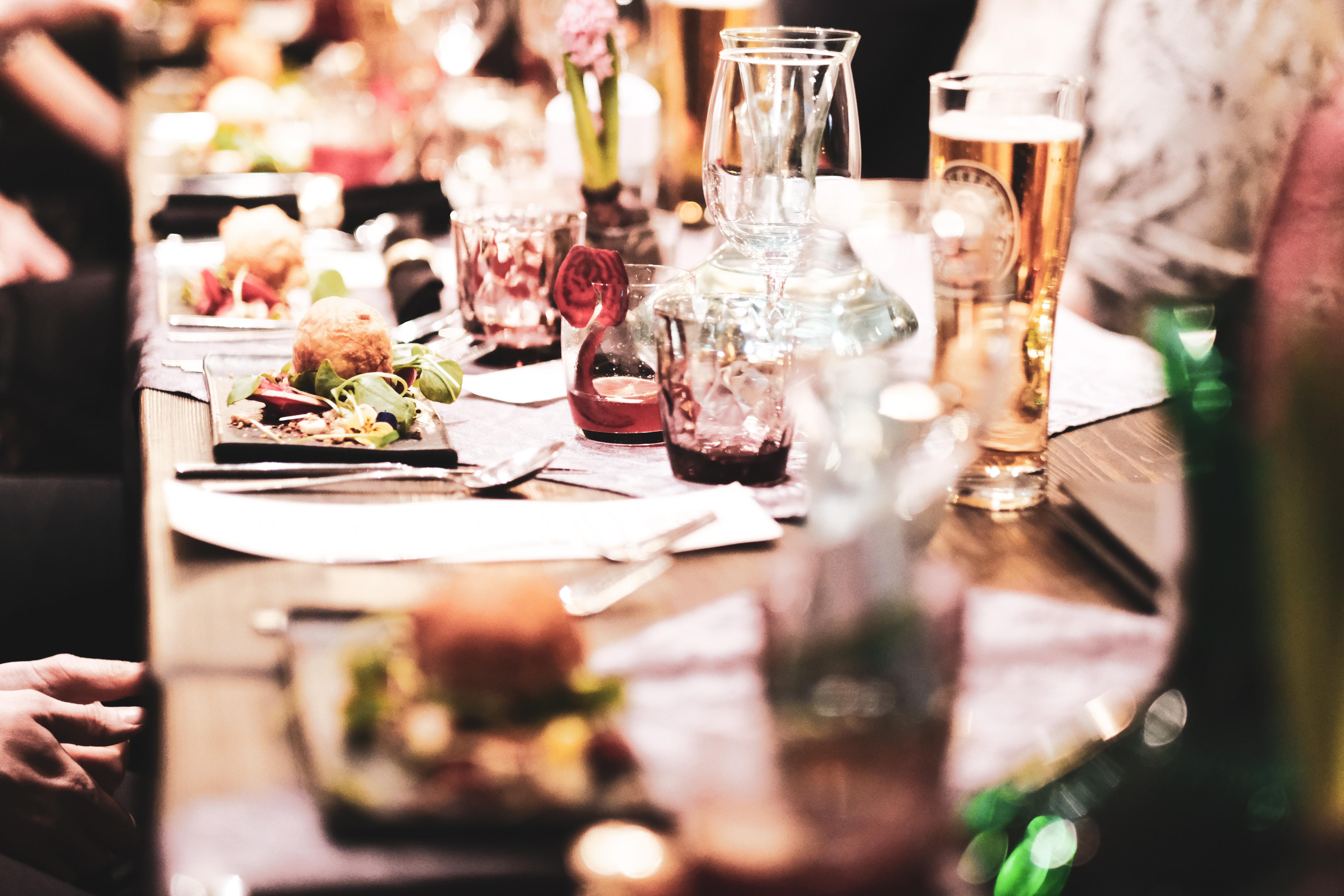 Veganes Dinner mit Direkt vom Feld | ein Rückblick #amtischmitfreunden