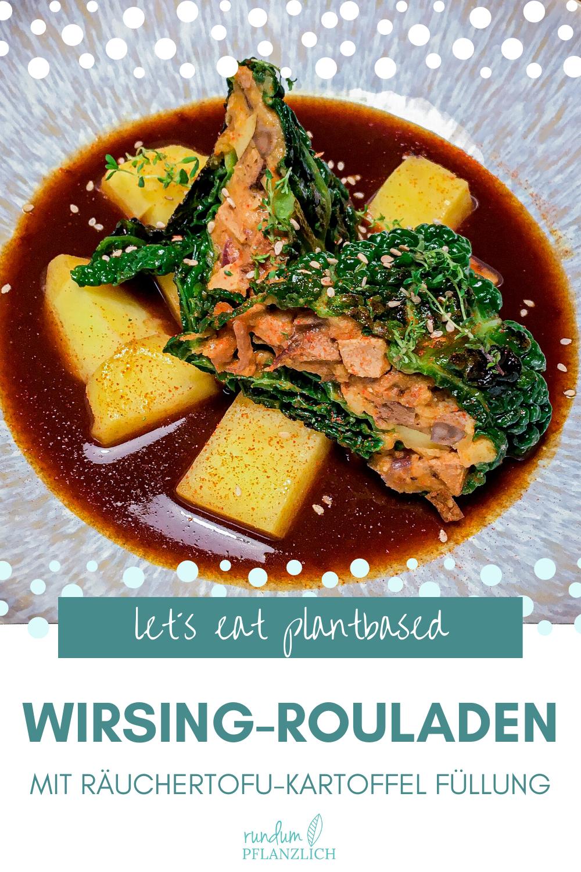 Vegane Wirsing-Rouladen | Ostern genießen